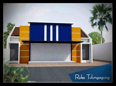 rumah ruko minimalis  lantai desain rumah minimalis