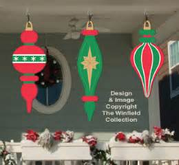 holiday signs giant ornaments 5 woodcraft pattern