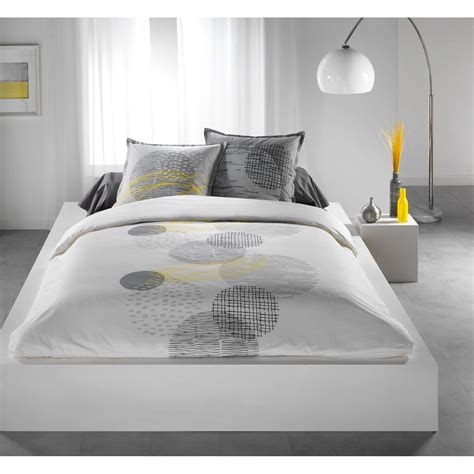 housse couette grise housse couette grise blanche