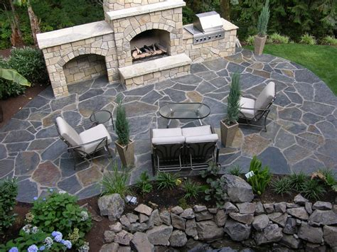 outdoor patio ideas on patio ideas flagstone
