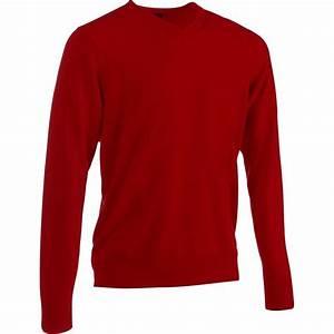 Maglione golf uomo First In rosso INESIS Abbigliamento e