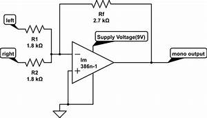 op amp why the op amp is clipping the output signal even With basic audio mixer using op amp