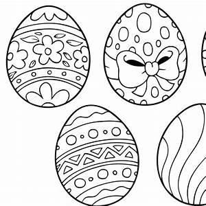 Coloriage De Paque : coloriage de p ques les gros six ufs de la poule ~ Melissatoandfro.com Idées de Décoration
