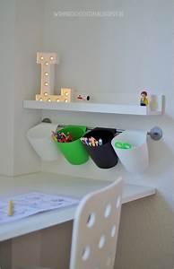 Kinderzimmer Aufbewahrung Ideen : die besten 25 schreibtische kinderzimmer ideen auf pinterest spielzimmer aufbewahrung ~ Markanthonyermac.com Haus und Dekorationen