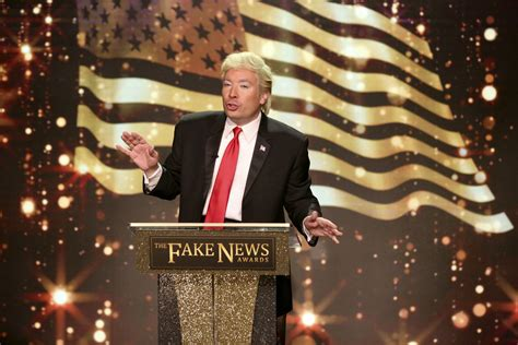 fake awards fallon jimmy starring tonight sketch president features nbc tuesday pictured donald trump episode during