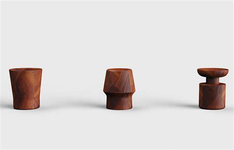 parota wood console side tables custom modern design