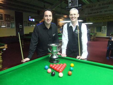 Irish National Championships Conclude This Weekend Snookerhq