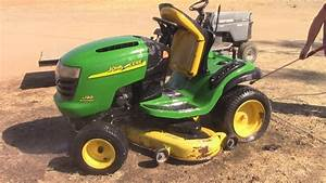 Getting A John Deere L130 Lawn Tractor Going Again