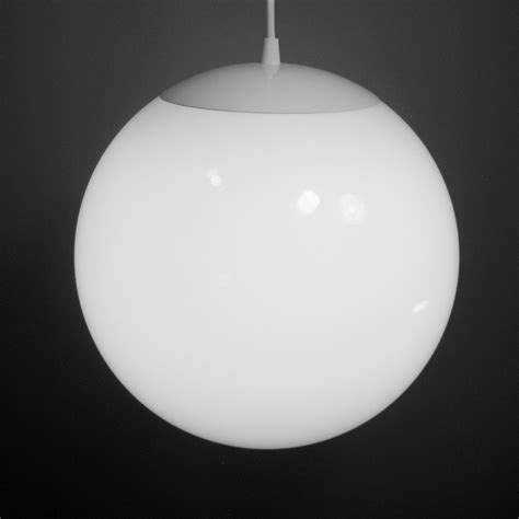 pendant light large 12 inch glass globe mid century