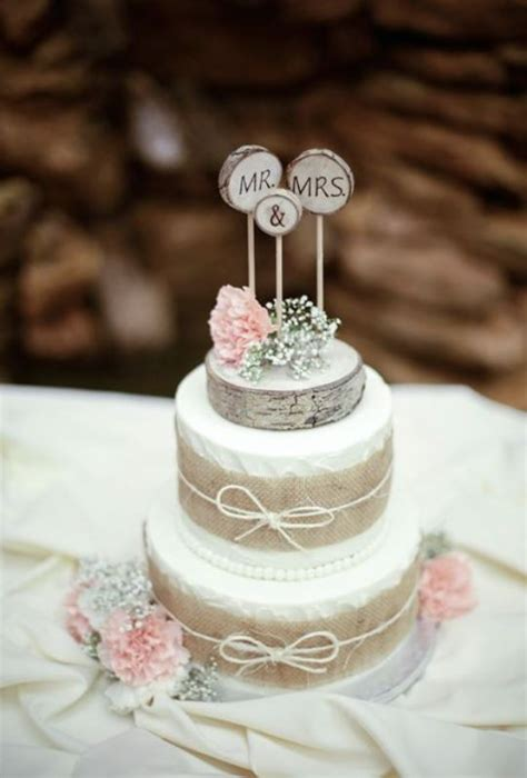 picture  lovely rustic inspired country wedding cakes