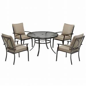 Garden Oasis Harrison 5 Piece Cushion Dining Set