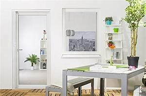 Bodentiefe Fenster Varianten : tectake insektenschutzrollo fliegengitter rollo aluminium 90x160cm reppilc ~ Buech-reservation.com Haus und Dekorationen