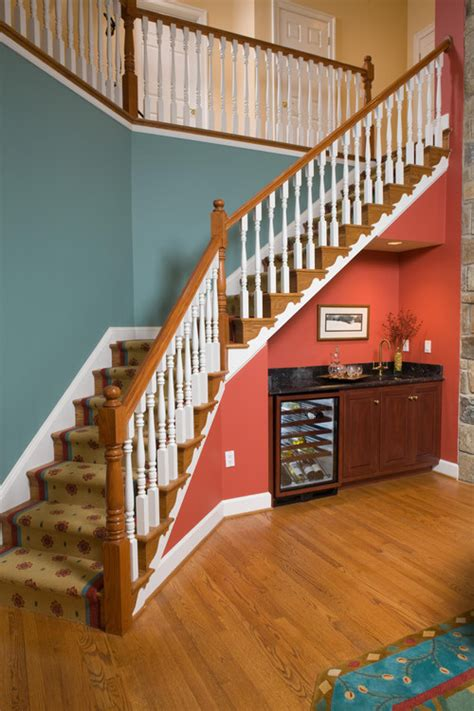 wall colors stairs stair well and upstairs hallway