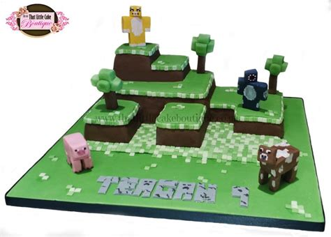 minecraft cake stampylongnose cake iballistic squid cake