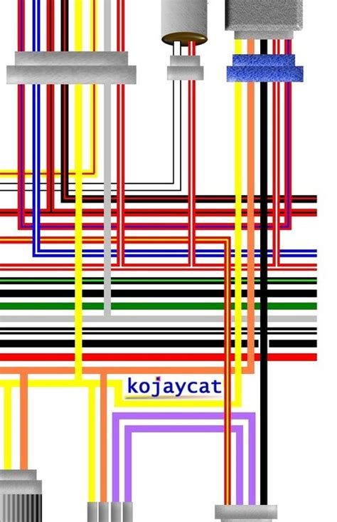 Royal Enfield Bullet Street Colour Wiring Harness Diagram