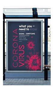 Poster design of coronavirus information | Adobe Photoshop ...