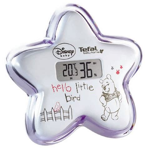 thermomètre hygromètre chambre bébé thermomètre hygromètre disney winnie tefal avis