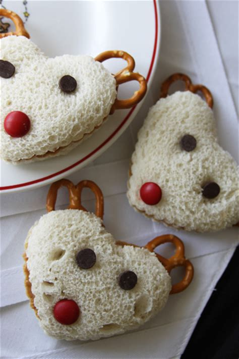 christmas snacks for preschool reindeer sandwiches kid friendly lunch a spotted pony