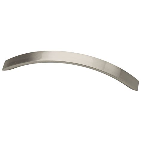 Lowes Cabinet Pulls And by Shop Brainerd 128mm Center To Center Satin Nickel Bar