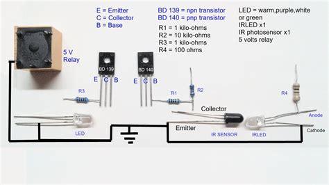 infrared proximity sensor circuit diagram