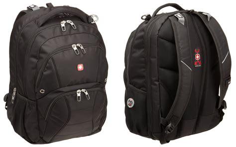 swiss army black canvas swissgear sa1908 tsa friendly laptop backpack review bmb