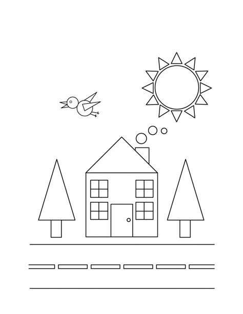 shape coloring pages free printable shapes coloring pages for