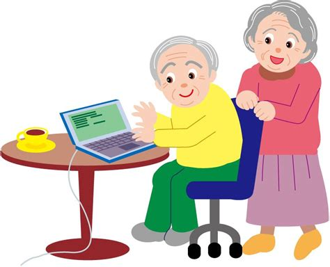 Elderly Care Clipart - Clip Art Library