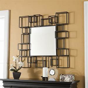 Large mirrors for wall large glass framed wall mirror for Wall mirrors decorative living room