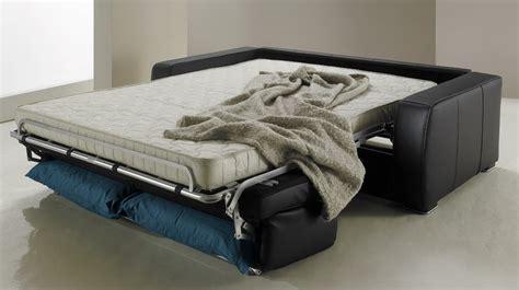 canapé convertible lit quotidien canapé lit en cuir 2 places couchage 120 cm tarif usine