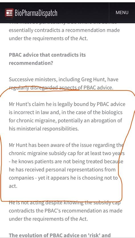 """Get an overview of emgality (galcanezumab injection, solution), including warnings and precautions, directions, and the names of other drugs and products that include the same medication. Chris Bowen MP - """"Mr Hunt's claim he is legally bound by ..."""