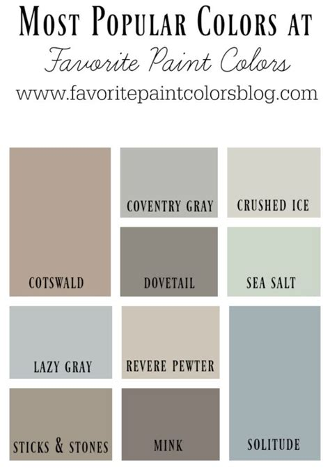 17 best ideas about popular paint colors on pinterest