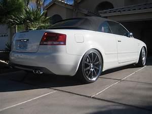 Audi S4 Cabriolet : test fitting my 19 sporttechnics on an artic white audi s4 cabriolet nick 39 s car blog ~ Medecine-chirurgie-esthetiques.com Avis de Voitures