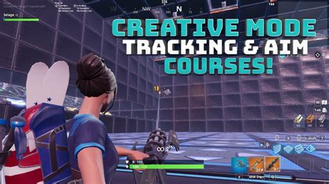 creative mode tracking  aim training   code