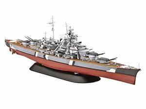 Revell 05098 Schlachtschiff Bismarck 1:700 Schiff Boot ...
