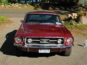 """1967 Fastback Mustang GT """"S"""" Code 390 C. I. For Sale"""