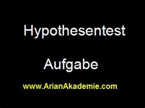 hypothesentest alpha und beta fehler berechnen youtube
