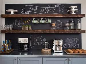 20 Mind-Blowing DIY Coffee Bar Ideas and Organization