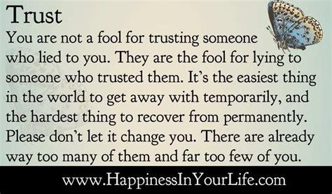 trust trusting