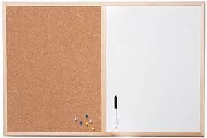 Tableau En Liege : combi tableau magn tique et en li ge 60x90cm avec cadre en ~ Melissatoandfro.com Idées de Décoration