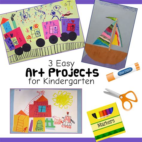 3 and easy kindergarten lessons 707 | 3 Easy Art Projects for Kindergarten