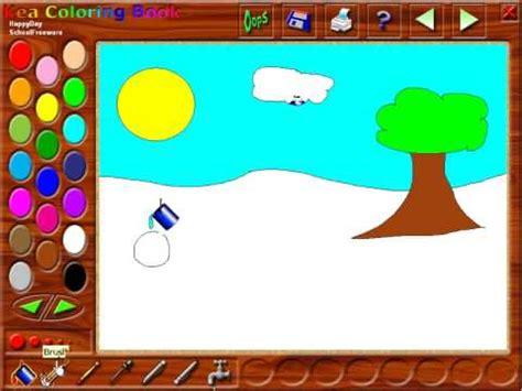 kea coloring book tutorial  software  kids youtube
