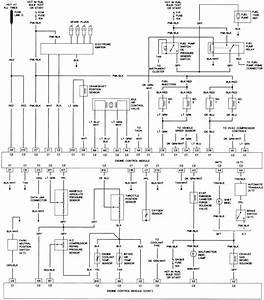 67 - 2 0l  Vin H  Engine Control Wiring Diagram