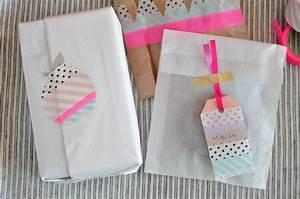 le masking tape pour qui pourquoi comment With salle de bain design avec noeuds décoration pour paquets cadeaux