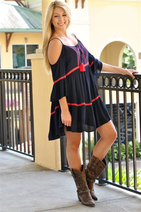 Go with the Flow Gameday Dress-Navy/Red