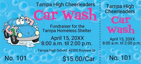 free car wash ticket template car wash tickets templates free pertamini co