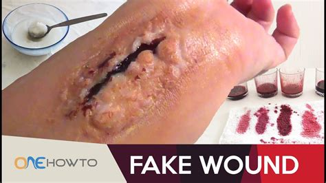 How To Make A Fake Wound In 2 Minutes  Diy Costume