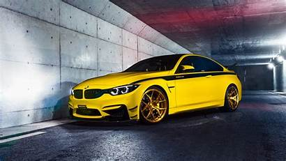 M4 Bmw Yellow Side Cars Wallpapers Headlights