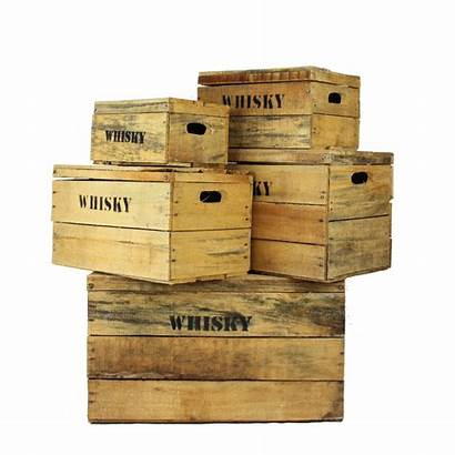 Crates Wooden Whisky