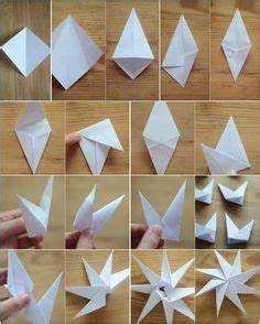 Stern Basteln Anleitung Papier : 8 zackige origami sterne aus papier falten anleitung ~ Lizthompson.info Haus und Dekorationen