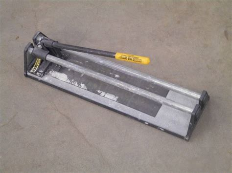 nattco tile cutter bg1986 nattco tile cutter loretto equipment 288 k bid